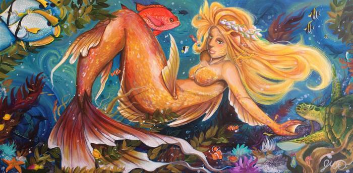 Under dah sea