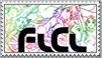 Rainbow Fooly Cooly Stamp by Moon42320