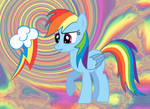 Confused Rainbow Dash