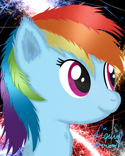 Rainbow Dash by jazzy-rose-hxc