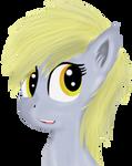 Derp. Una yegua gris.
