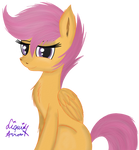 Scootaloo or Who Needs Backgrounds Anyway