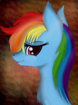 Some rainbow horse.