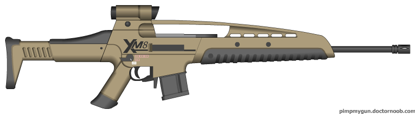 XM8 Sharpshooter by ShadowBuster2010 on DeviantArt Xm8 Sharpshooter