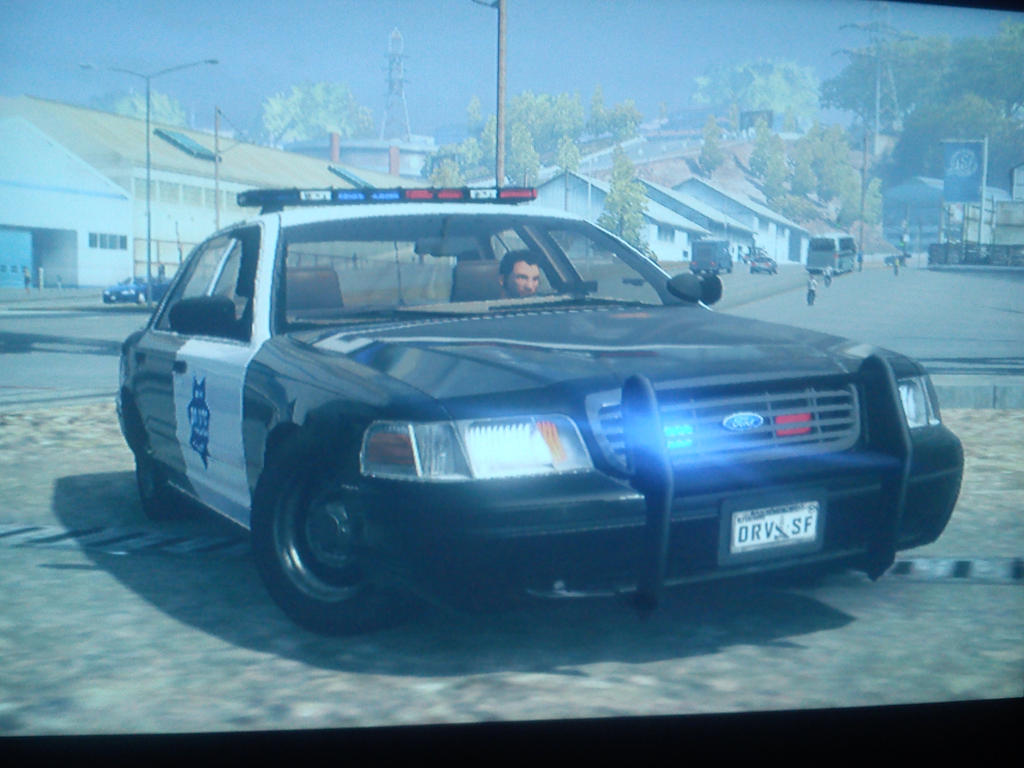 DriverSF Ford Crown Victoria Police Interceptor by