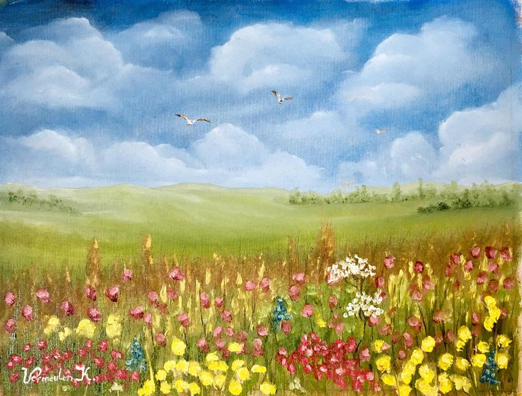 Flower Hill by Kv4513