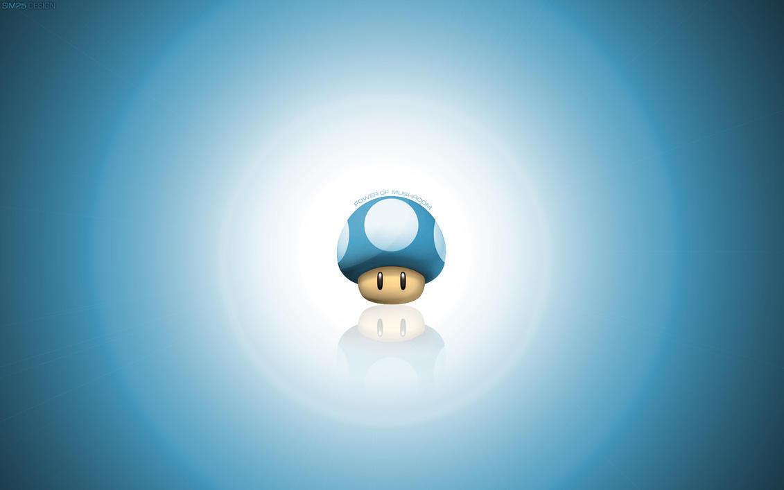 Mushroom Wallpaper HD by Sim25-Design