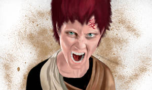 Realistic Gaara of the Sand from Naruto