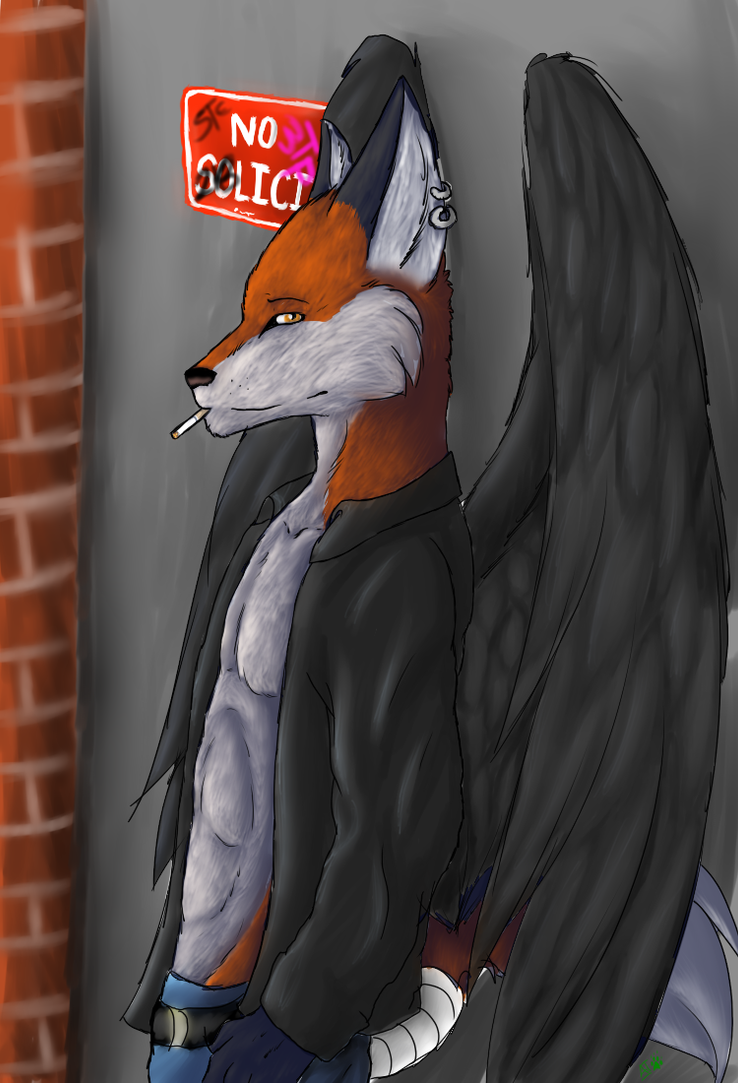 No Soliciting commission by Polo333