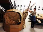 Cardboard Robotic Snail
