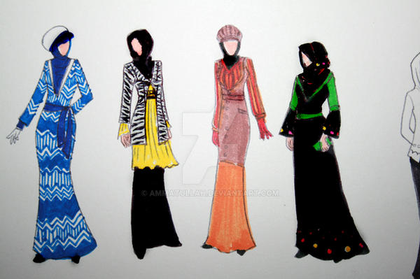 Hijab Fashion Xi By Ammatullah On Deviantart