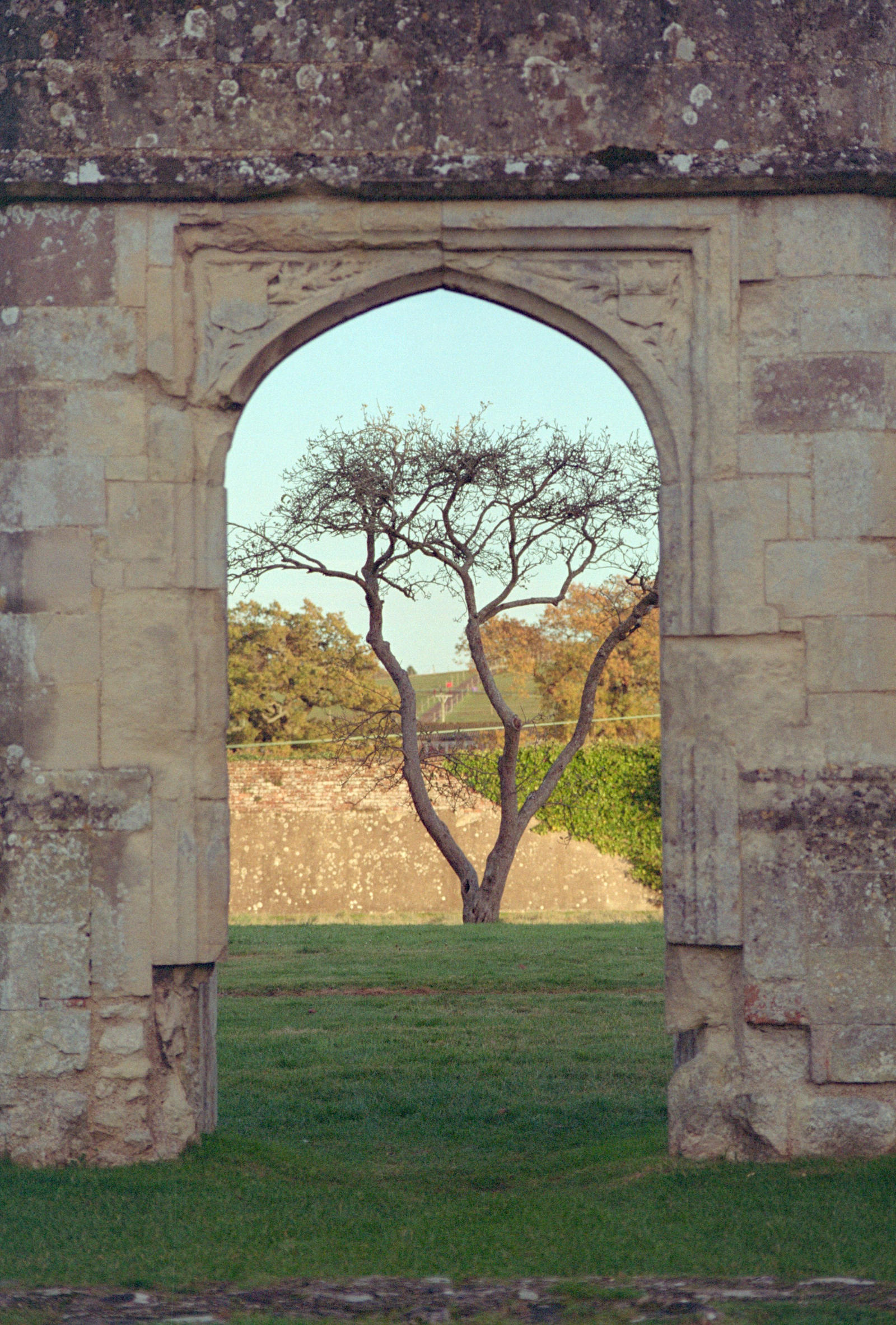 Abbey archway