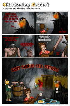 Chickening Around Ch.17: Haunted Festival Spirit