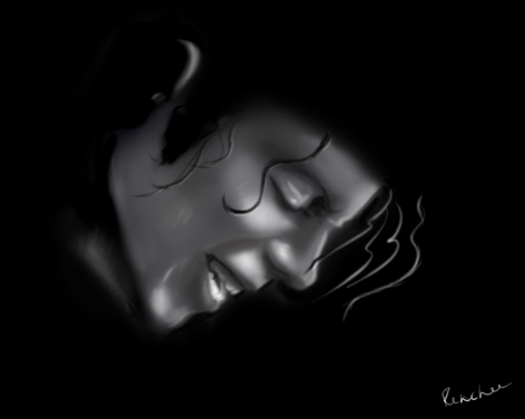 Michael Jackson portrait by Renchee