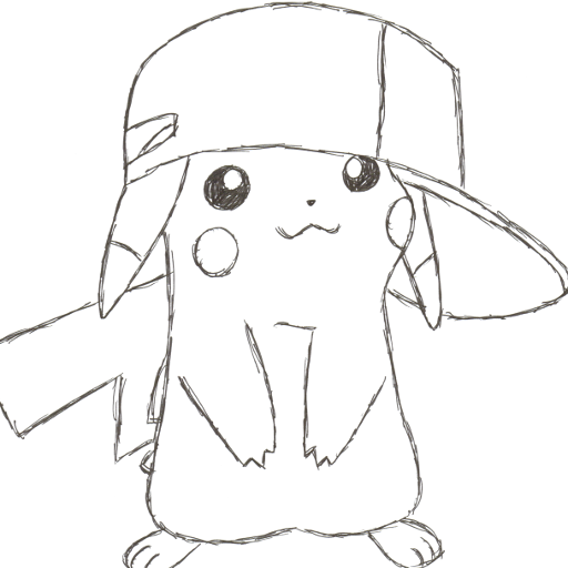 cute pikachu drawing by vkjuj123