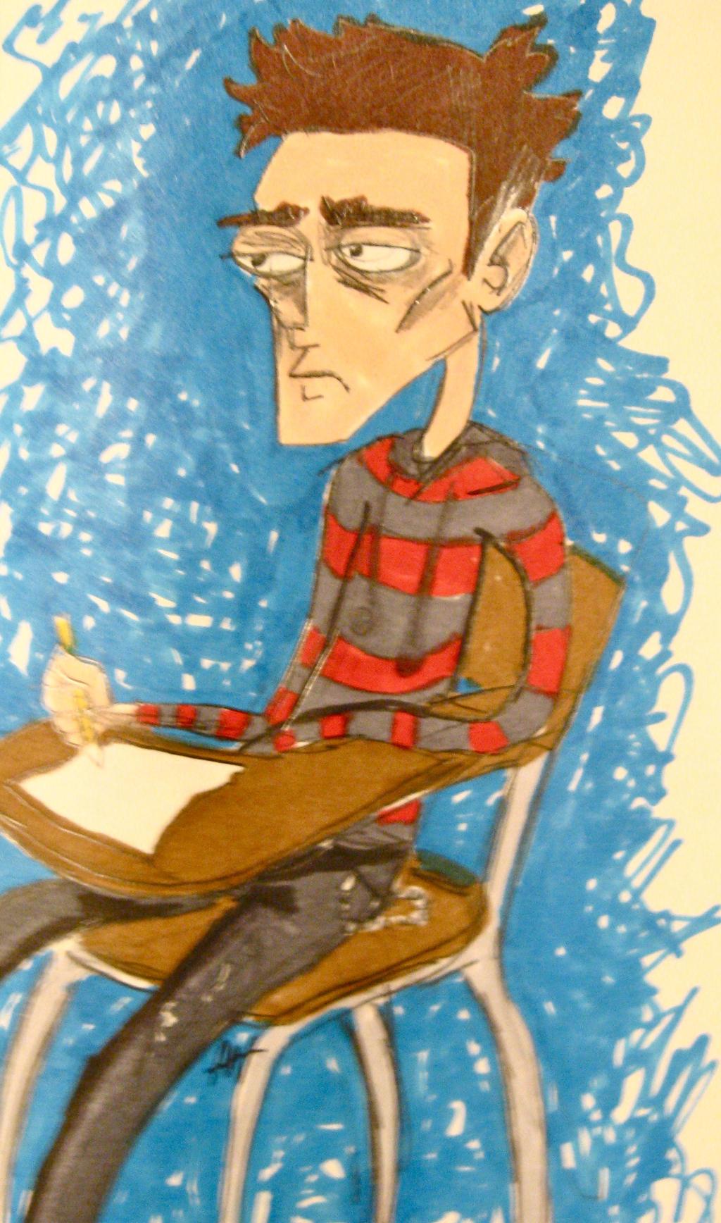 Apathetic Student by Arri-Stark