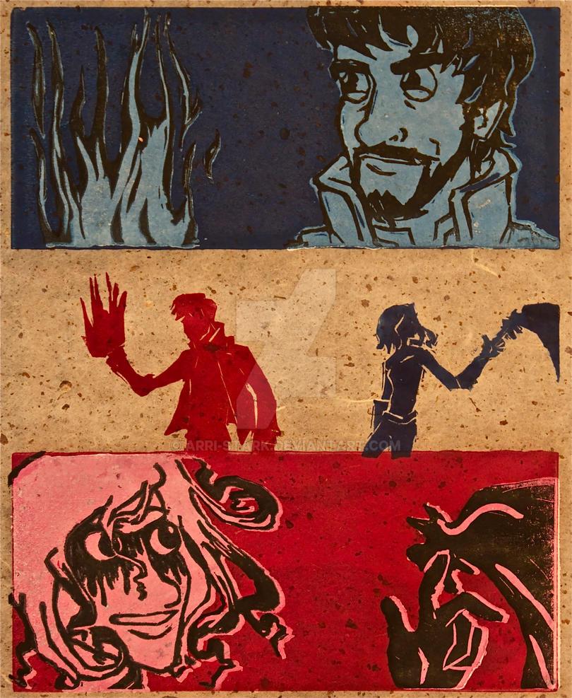 Daring Superheroics by Arri-Stark