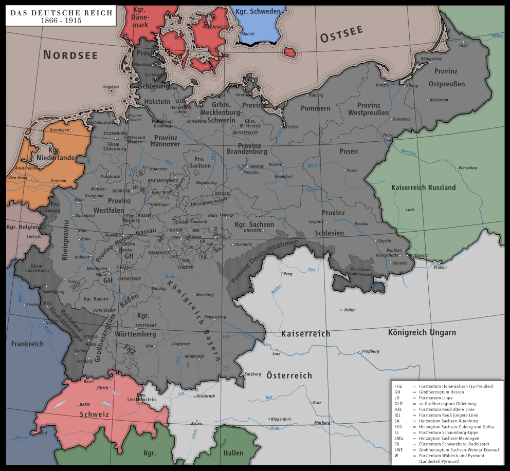 an introduction to the history of the german empire The history of st petersburg is rich and exciting  on this page we offer a brief introduction to st petersburg's history,  erupted across the empire.