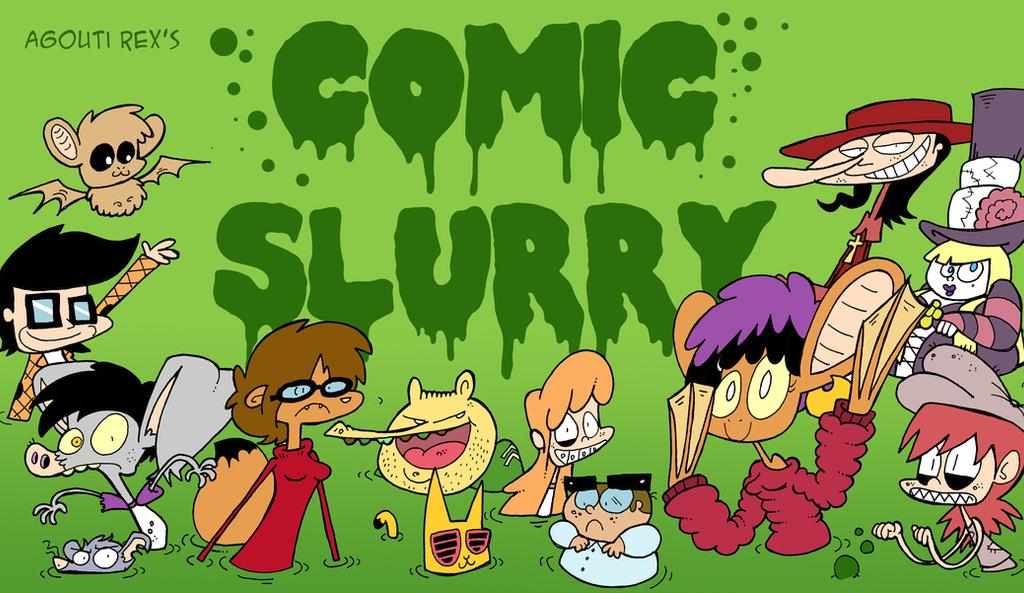 Agouti Rex's Comic Slurry by Galago