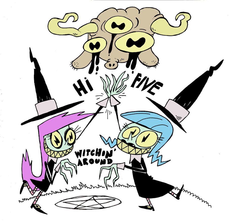 Hi-5 Witches by Galago