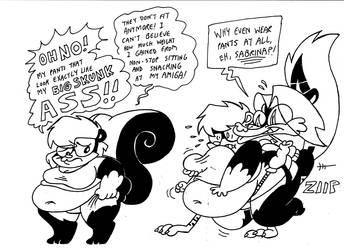 Sabrina Gets Fat 2 by Galago