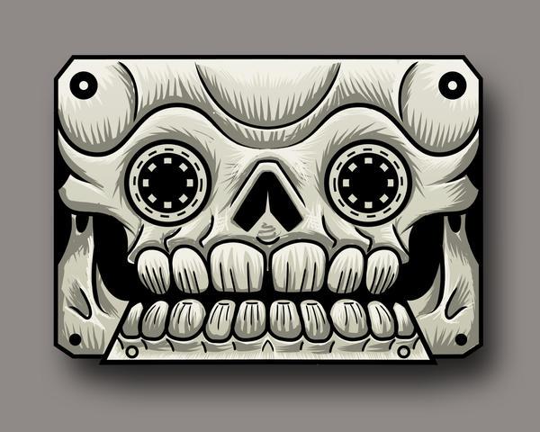 Skull by nomad81