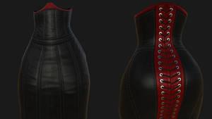 Hobble Dress WIP 02
