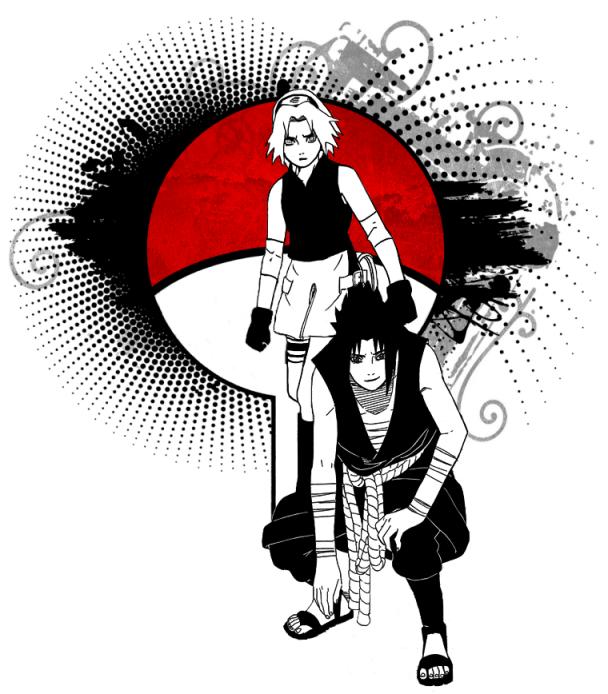 Sakura Haruno and Sasuke Uchiha by her0e on DeviantArt