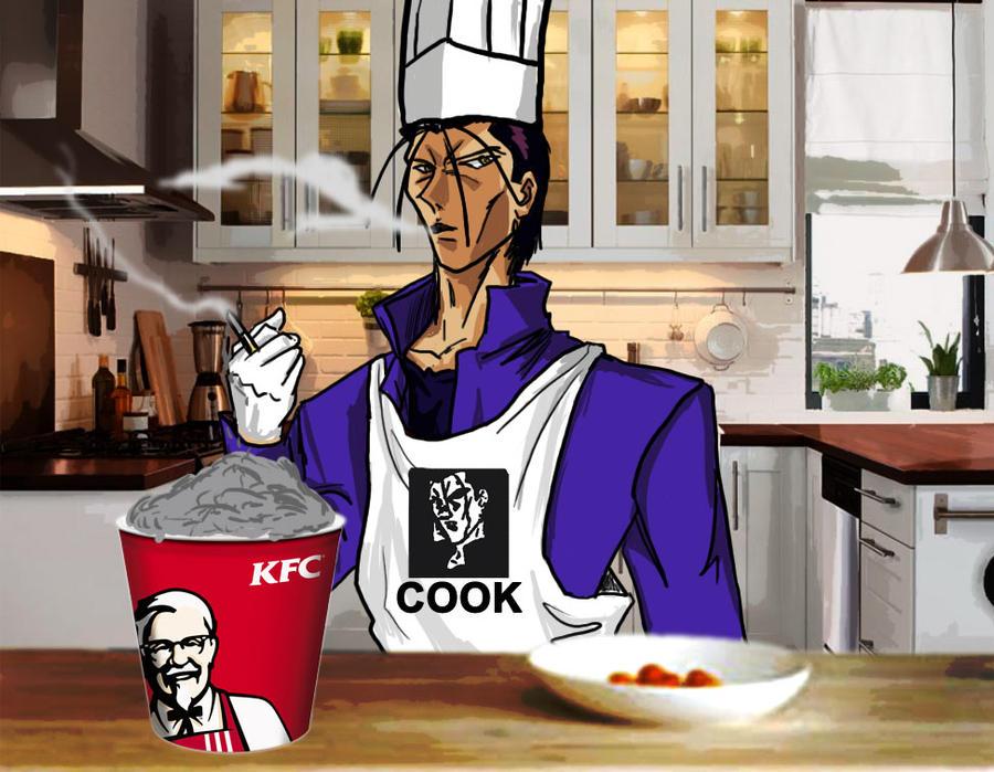 Cocinando con saito promo by sliver64 on deviantart for Cocinando 15 minutos con jamie