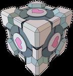 Companion Cube Vector