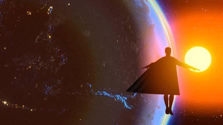 the world needs superman