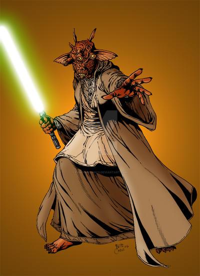 Jedi Master Maks Leem by FandomComics