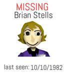 Brian Missing Poster walten files