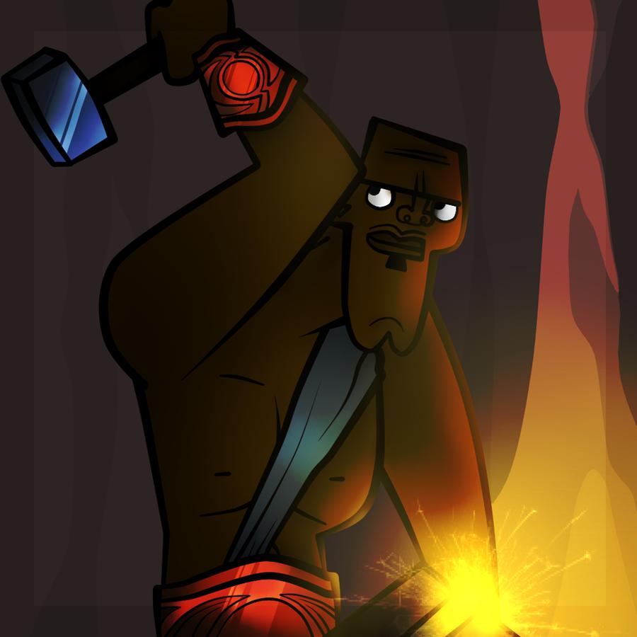 Hephaestus - God of fire by ConeyIslandQueen on DeviantArt