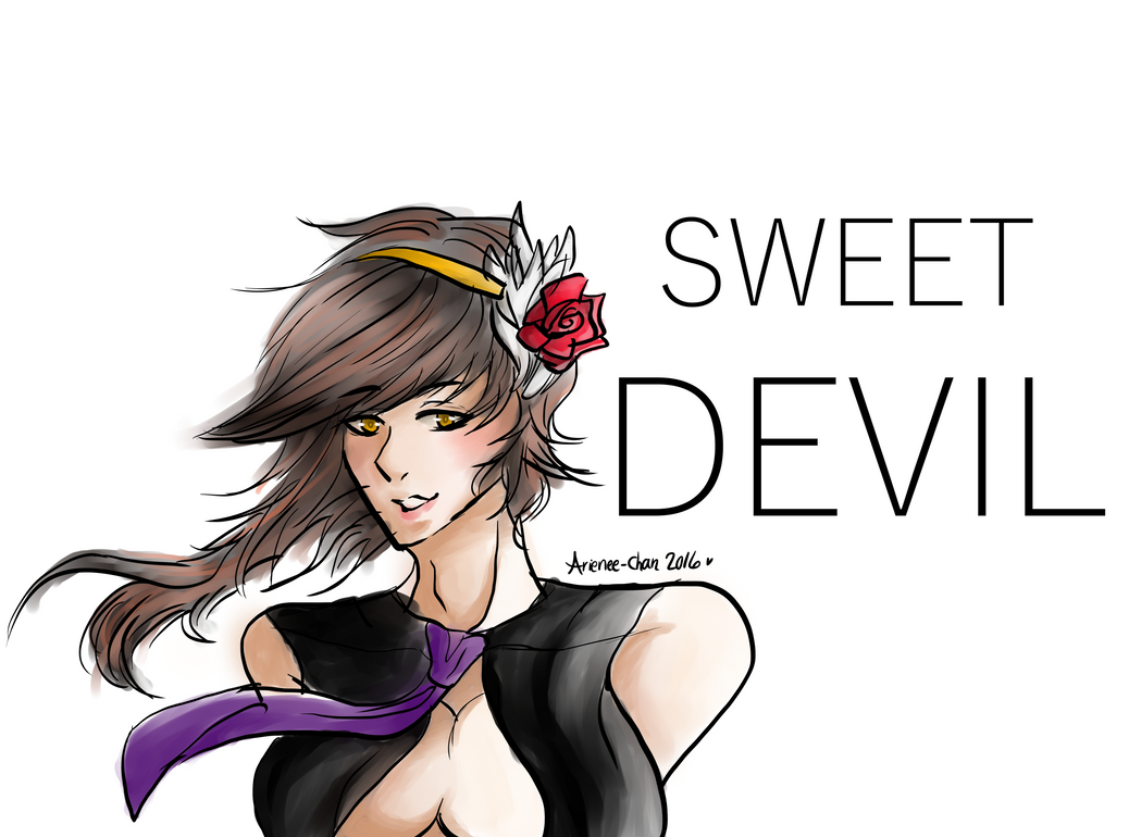 Sweet Devil - Sachiko by Arienee-Chan