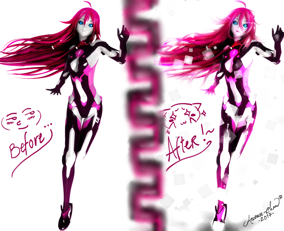 |MMD| Acid IA Comparison by Arienee-Chan