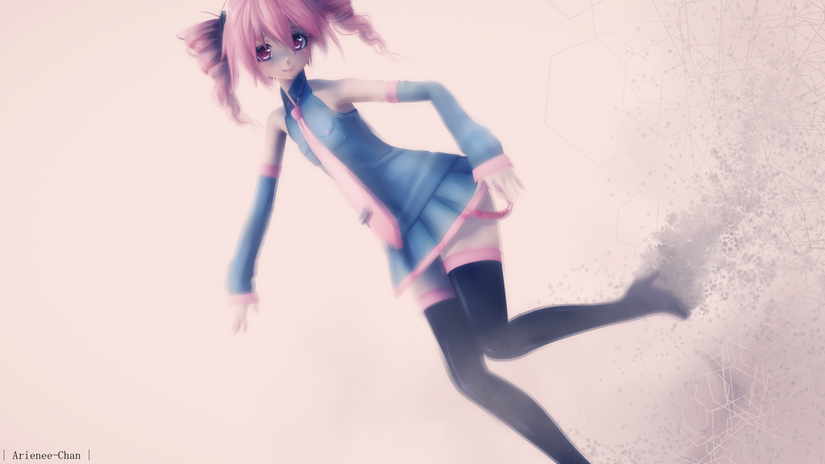 |MMD| Happy LATE Birthday Teto by Arienee-Chan
