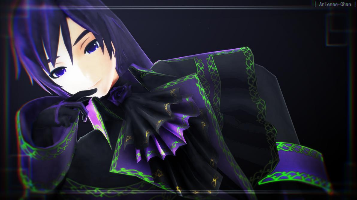 |MMD| Rosa Violet by Arienee-Chan