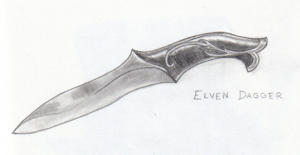 Elven Dagger By Katis228 On Deviantart
