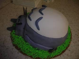 Totoro Cake by Fishpaste879