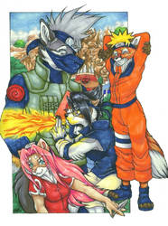 Fighting Dreamers of Konoha