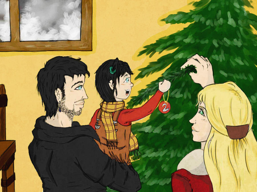 Christmas In Family - Captain Swan by StKaley