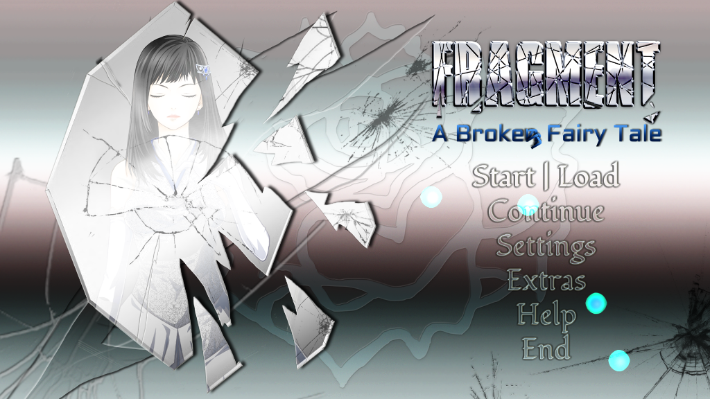 Fragment : A Broken Fairy Tale - Title Screen
