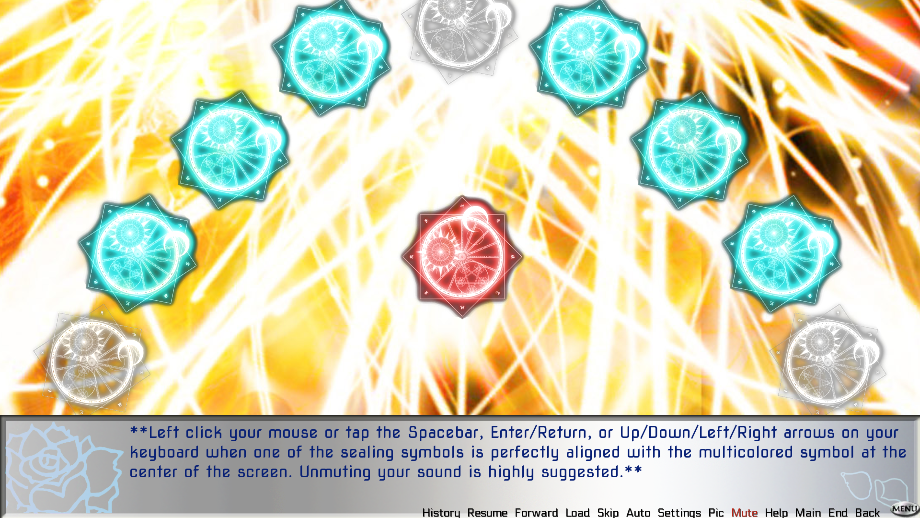 Fragment :A Broken Fairy Tale - Rhythm Mini Game