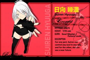 {BNHA} Suiren Hyuuga's hero profile by Faith-Rebellion