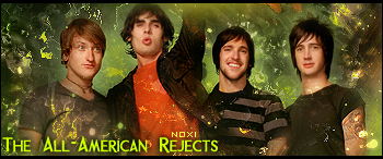 The All American Rejects Sig by Noxigen