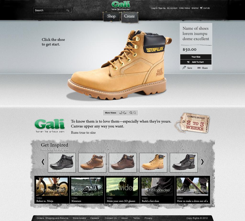 shoes website by jerrytang1206 on deviantart