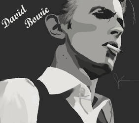 David Bowie by MissJenniferRose