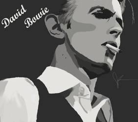 David Bowie by MissJenniferRose