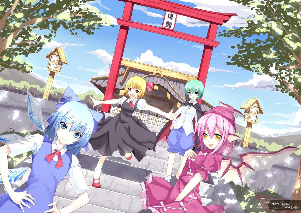 Touhou : The Baka Team [9] by Riki-to